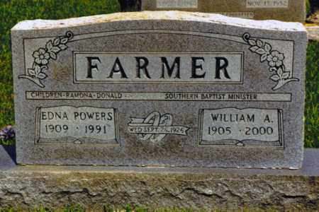 POWERS FARMER, BERA EDNA - Henry County, Tennessee | BERA EDNA POWERS FARMER - Tennessee Gravestone Photos