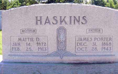 HASKINS, MATTIE D. - Henry County, Tennessee | MATTIE D. HASKINS - Tennessee Gravestone Photos