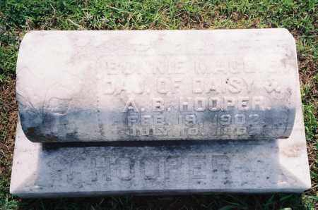 HOOPER, BONNIE MAGGIE - Henry County, Tennessee | BONNIE MAGGIE HOOPER - Tennessee Gravestone Photos