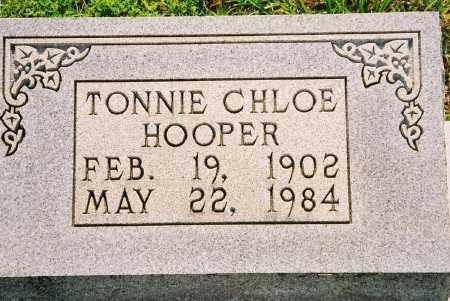 HOOPER, TONNIE CHLOE - Henry County, Tennessee   TONNIE CHLOE HOOPER - Tennessee Gravestone Photos