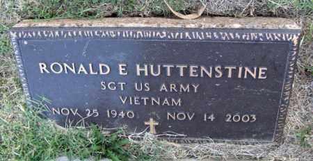 HUTTENSTINE  (VETERAN VIET), RONALD E - Henry County, Tennessee | RONALD E HUTTENSTINE  (VETERAN VIET) - Tennessee Gravestone Photos