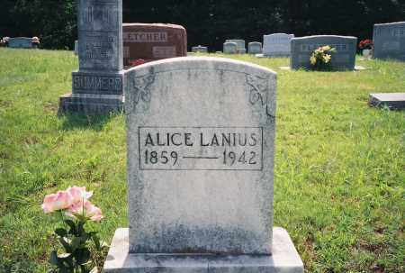 BANDY LANIUS, ALICE LEOLA LILLIE CAPITOLA - Henry County, Tennessee | ALICE LEOLA LILLIE CAPITOLA BANDY LANIUS - Tennessee Gravestone Photos