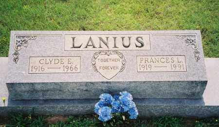 LANIUS, FRANCES L. - Henry County, Tennessee | FRANCES L. LANIUS - Tennessee Gravestone Photos