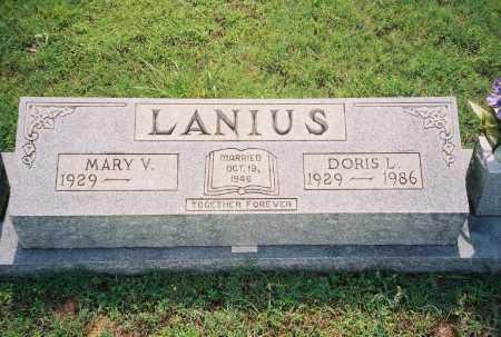 LANIUS, DORIS LAVERNE - Henry County, Tennessee | DORIS LAVERNE LANIUS - Tennessee Gravestone Photos