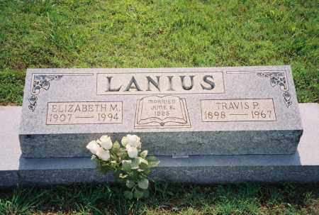 LANIUS, TRAVIS PHILLIP - Henry County, Tennessee | TRAVIS PHILLIP LANIUS - Tennessee Gravestone Photos