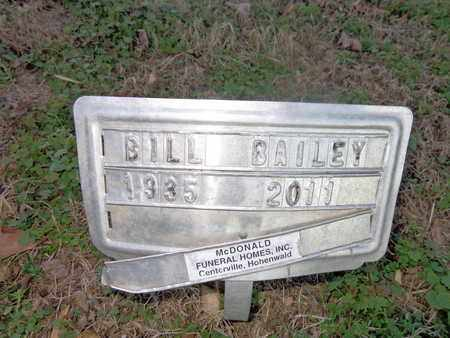 BAILEY, BILL - Hickman County, Tennessee   BILL BAILEY - Tennessee Gravestone Photos