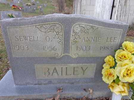 BAILEY, SEWELL O - Hickman County, Tennessee | SEWELL O BAILEY - Tennessee Gravestone Photos