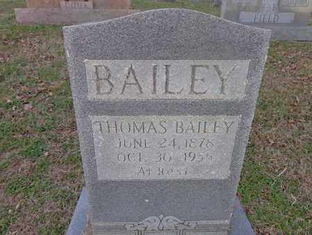 BAILEY, THOMAS - Hickman County, Tennessee | THOMAS BAILEY - Tennessee Gravestone Photos