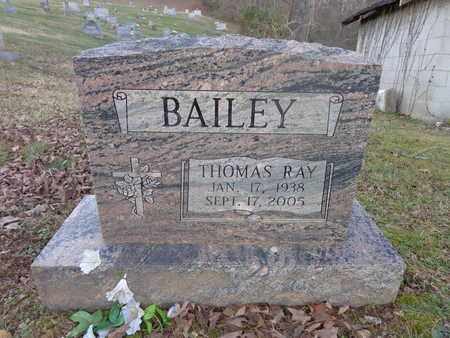 BAILEY, THOMAS RAY - Hickman County, Tennessee | THOMAS RAY BAILEY - Tennessee Gravestone Photos