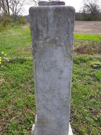 CHURCH, ANN ELIZA - Hickman County, Tennessee | ANN ELIZA CHURCH - Tennessee Gravestone Photos