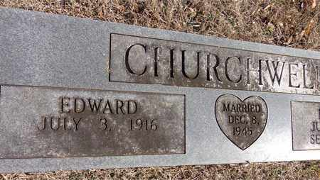 CHURCHWELL, EDWARD - Hickman County, Tennessee | EDWARD CHURCHWELL - Tennessee Gravestone Photos
