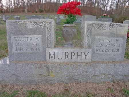MURPHY, WALTER W - Hickman County, Tennessee | WALTER W MURPHY - Tennessee Gravestone Photos