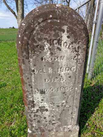 NICHOLS, HARRY GILBERT - Hickman County, Tennessee | HARRY GILBERT NICHOLS - Tennessee Gravestone Photos
