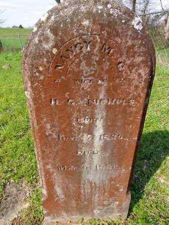 NICHOLS, NANCY MARGARET CAROLINE - Hickman County, Tennessee | NANCY MARGARET CAROLINE NICHOLS - Tennessee Gravestone Photos