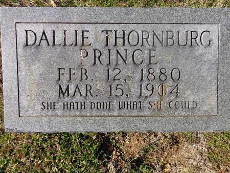PRINCE, DALLIE THORNBURG - Hickman County, Tennessee | DALLIE THORNBURG PRINCE - Tennessee Gravestone Photos