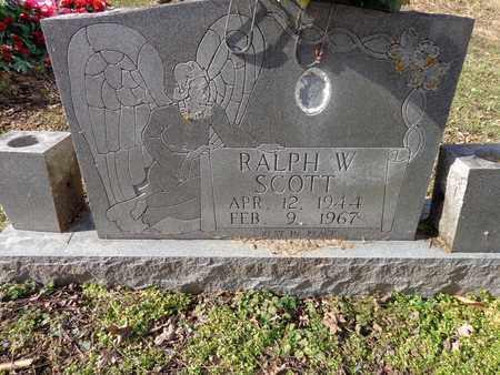 SCOTT, RALPH W - Hickman County, Tennessee | RALPH W SCOTT - Tennessee Gravestone Photos