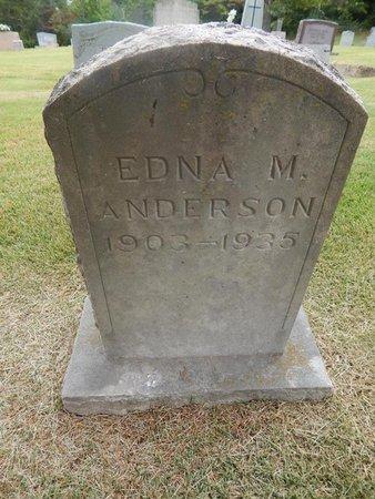 ANDERSON, EDNA M - Jefferson County, Tennessee | EDNA M ANDERSON - Tennessee Gravestone Photos