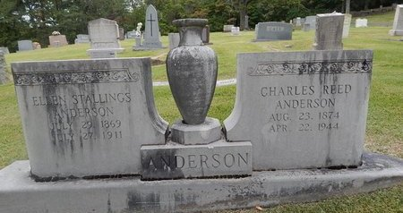 ANDERSON, CHARLES REED - Jefferson County, Tennessee | CHARLES REED ANDERSON - Tennessee Gravestone Photos