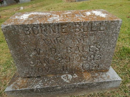 BALES, BONNIE - Jefferson County, Tennessee | BONNIE BALES - Tennessee Gravestone Photos