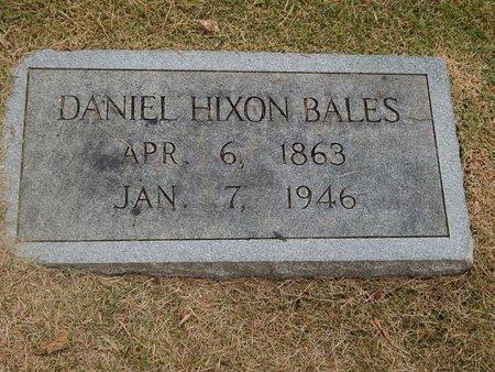 BALES, DANIEL HIXON - Jefferson County, Tennessee | DANIEL HIXON BALES - Tennessee Gravestone Photos