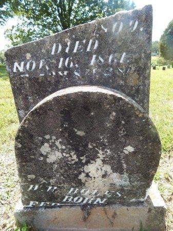 BOLES, W W - Jefferson County, Tennessee   W W BOLES - Tennessee Gravestone Photos