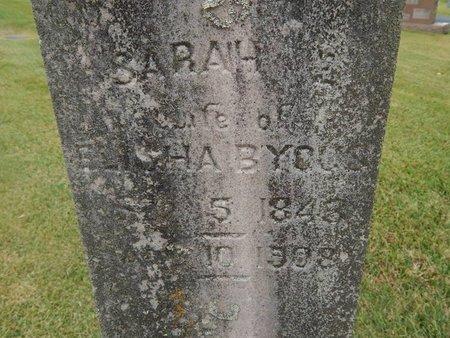BYOUS, SARAH - Jefferson County, Tennessee | SARAH BYOUS - Tennessee Gravestone Photos