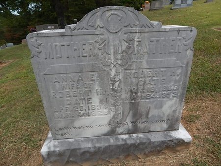 CATE, ROBERT H - Jefferson County, Tennessee | ROBERT H CATE - Tennessee Gravestone Photos