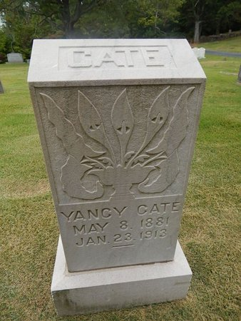 CATE, YANCY - Jefferson County, Tennessee | YANCY CATE - Tennessee Gravestone Photos