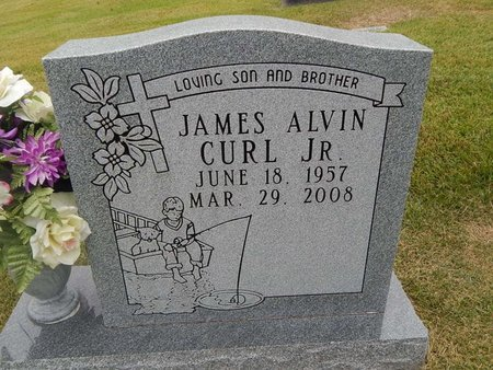 CURL, JAMES ALVIN JR - Jefferson County, Tennessee | JAMES ALVIN JR CURL - Tennessee Gravestone Photos