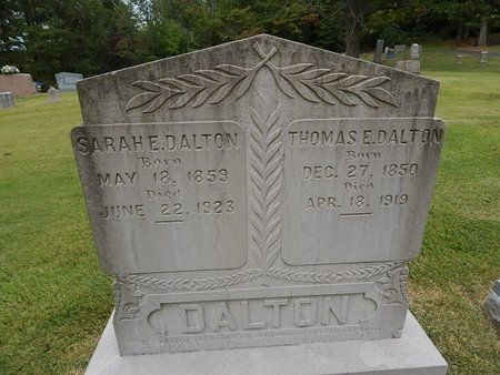 BAILEY DALTON, SARAH ELIZABETH - Jefferson County, Tennessee | SARAH ELIZABETH BAILEY DALTON - Tennessee Gravestone Photos