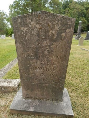 DINWIDDIE, DELLA - Jefferson County, Tennessee | DELLA DINWIDDIE - Tennessee Gravestone Photos