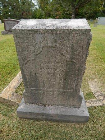 DINWIDDIE, J AUBREY - Jefferson County, Tennessee | J AUBREY DINWIDDIE - Tennessee Gravestone Photos