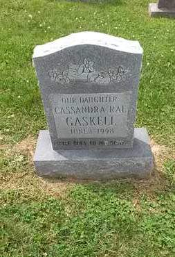 GASKELL, CASSANDRA - Jefferson County, Tennessee | CASSANDRA GASKELL - Tennessee Gravestone Photos