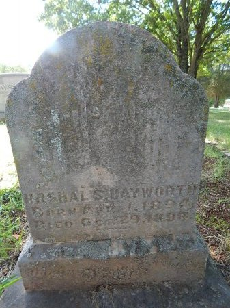HAYWORTH, URSHAL - Jefferson County, Tennessee | URSHAL HAYWORTH - Tennessee Gravestone Photos