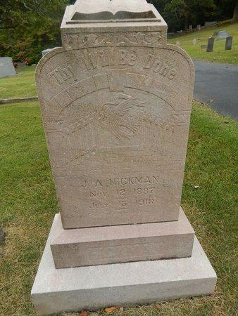 HICKMAN, J A - Jefferson County, Tennessee   J A HICKMAN - Tennessee Gravestone Photos