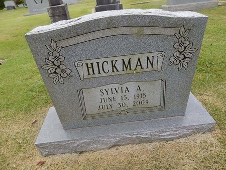 HICKMAN, SYLVIA A - Jefferson County, Tennessee | SYLVIA A HICKMAN - Tennessee Gravestone Photos