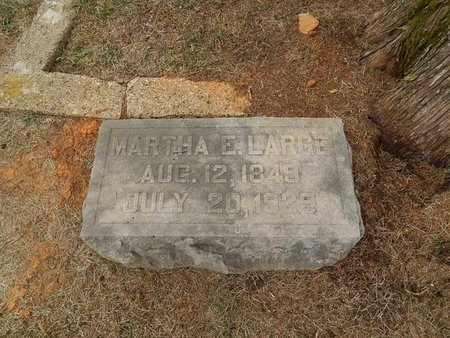 LARGE, MARTHA E - Jefferson County, Tennessee | MARTHA E LARGE - Tennessee Gravestone Photos