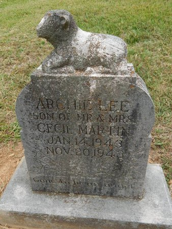 MARTIN, ARCHIE LEE - Jefferson County, Tennessee | ARCHIE LEE MARTIN - Tennessee Gravestone Photos