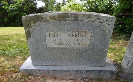 PARROTT, EMILY - Jefferson County, Tennessee | EMILY PARROTT - Tennessee Gravestone Photos