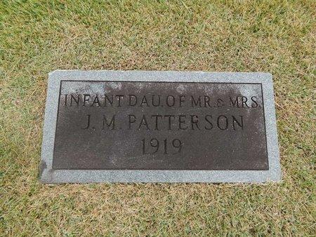 PATTERSON, INFANT DAUGHTER - Jefferson County, Tennessee | INFANT DAUGHTER PATTERSON - Tennessee Gravestone Photos