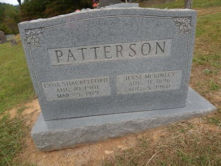 SHACKELFORD PATTERSON, LYDA - Jefferson County, Tennessee | LYDA SHACKELFORD PATTERSON - Tennessee Gravestone Photos