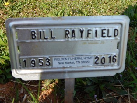 RAYFIELD, BILL - Jefferson County, Tennessee | BILL RAYFIELD - Tennessee Gravestone Photos