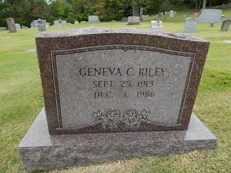 RILEY, GENEVA C - Jefferson County, Tennessee | GENEVA C RILEY - Tennessee Gravestone Photos