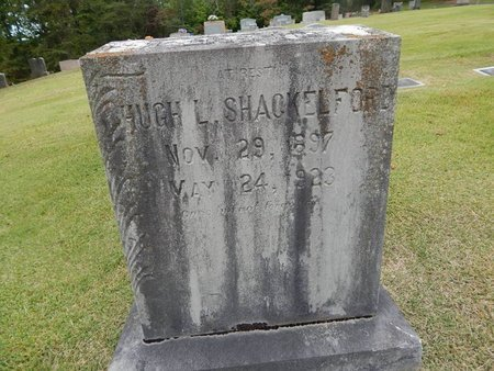 SHACKELFORD, HUGH L - Jefferson County, Tennessee | HUGH L SHACKELFORD - Tennessee Gravestone Photos