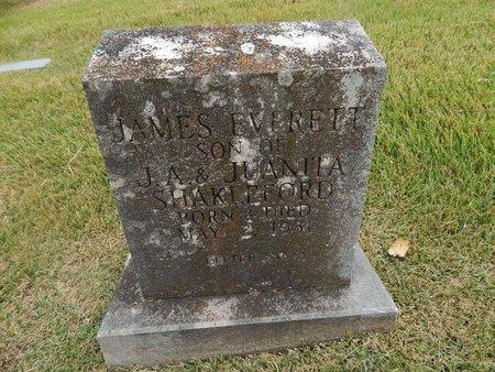 SHAKLEFORD, JAMES EVERETT - Jefferson County, Tennessee | JAMES EVERETT SHAKLEFORD - Tennessee Gravestone Photos