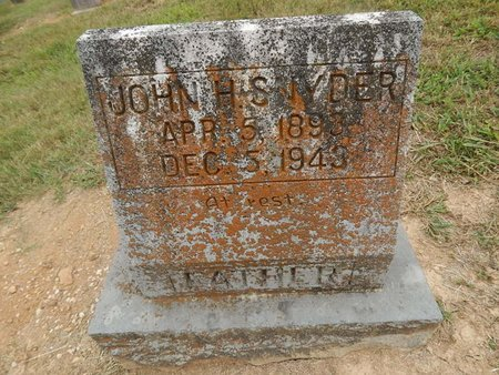 SNYDER, JOHN H - Jefferson County, Tennessee | JOHN H SNYDER - Tennessee Gravestone Photos