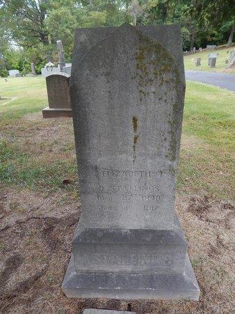 STALLINGS, FRANCES ELIZABETH - Jefferson County, Tennessee | FRANCES ELIZABETH STALLINGS - Tennessee Gravestone Photos