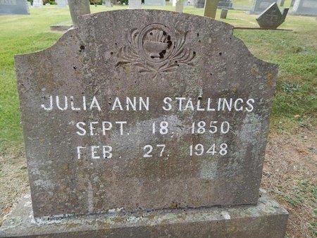 STALLINGS, JULIA ANN - Jefferson County, Tennessee | JULIA ANN STALLINGS - Tennessee Gravestone Photos