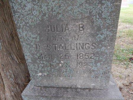 GALLOWAY STALLINGS, JULIA B (CLOSE-UP) - Jefferson County, Tennessee | JULIA B (CLOSE-UP) GALLOWAY STALLINGS - Tennessee Gravestone Photos