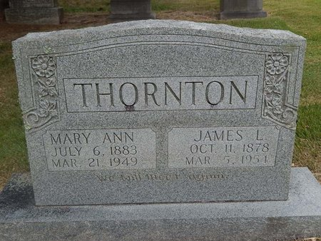 THORNTON, JAMES L - Jefferson County, Tennessee | JAMES L THORNTON - Tennessee Gravestone Photos